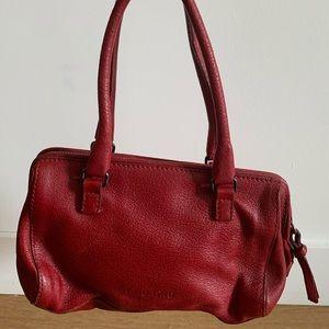 Miu Miu mini red leather handbag